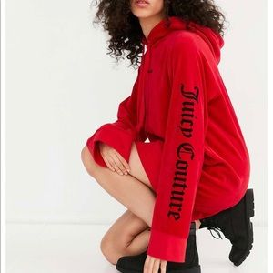 Juicy couture x urban outfitters sweatshirt dress